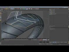 C4D - Motorcycle Tire Modeling Using Deformers #C4D,#Cinema 4D,#tutorial