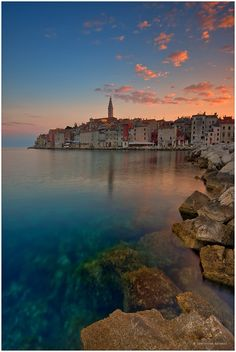 Rovinj, Croatia. Pearl of Istria. I'm sure I will come back here. The perfect place for a family vacation. The old town is a real treasure, but the park extends along the coast, with many beaches, which can tour the bike, it's a big attraction of this city.