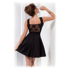 Dámské společenské šaty s krajkovými zády