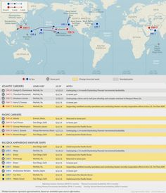 37 best U.S. Naval Maps images on Pinterest in 2018 | Carrier strike ...