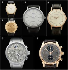 1873b9f16671 Gorgeous Pre Loved IWC Watches for Men (Mostly