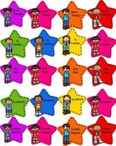 Compartimos una vez más este fabuloso material que la maestra Ms. Loy creations and more nos comparte y nos apoya Classroom Labels, Classroom Organization, Classroom Decor, Classroom Management, Back 2 School, First Day Of School, Sunday School, Bon Point, Elementary Spanish