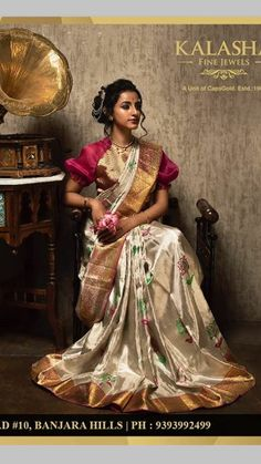 Bridal Sarees ,Designer Blouses and jewellery has members. Hello friends ,this group is dedicated for Bridal Trending sarees designer blouses and. Saree Floral, Saree Wedding, Bridal Sarees, Sari Design, Modern Saree, Satin Saree, Silk Saree Blouse Designs, Hindu Bride, Saree Photoshoot