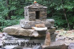 Thank you for visiting my miniature page. I began building miniature stone houses more than twenty years ago. Constructed dry-stack style with reinforced concrete, they are weather hardy and very d…