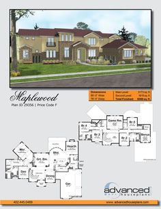 29356 Maplewood Classic Mediterranean-style accents enhance the curb appeal of…