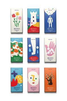 packaging Grafik & Illustration: Branco Schokoladenverpackung Prevention of Pythium Blight If yo Layout Design, Graphisches Design, Label Design, Design Logos, Brand Design, Package Design, Blog Design, Packaging Box Design, Packaging Ideas