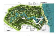 from Resort Planning & Design Manual Resort Plan, Landscape Design Plans, Landscaping Design, Backyard Landscaping, Spring Resort, Futuristic Architecture, Master Plan, Urban Planning, Plan Design