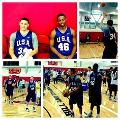 Check out interviews, photos, video & more of Klay & Harrison's participation in the #USABMNT at warriors.com/usa2013