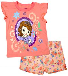 Princess Sofia The First Baby Girls 2-Piece Set