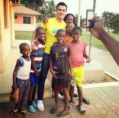 David Zepeda en Luanda