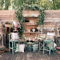 gorlanova_event's photo on Instagram Spring Wedding Inspiration, Wedding Ideas, Rustic Wedding, Table Decorations, Plants, Furniture, Instagram, Design, Home Decor