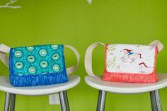 wee wander mini messenger bag free pattern // make it perfect
