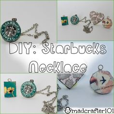 Easy DIY for a personalized necklace!