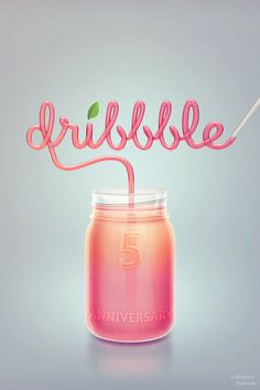 Dribbble_straw_hres ★ Find more at http://www.pinterest.com/competing/