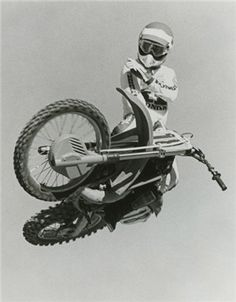 Danny Chandler Inducted to the Motorcycle Museum's Hall of Fame 1999 Top motocross racer of the Motocross Action, Motocross Love, Motocross Racer, Motocross Bikes, Vintage Motocross, Vintage Racing, Motorcycle Museum, Motorcycle Dirt Bike, Moto Bike