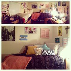 My college dorm room