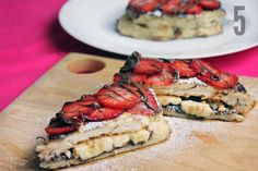 Forever Alone French Toast Bread / Nutella / Peanut Butter / Banana / Strawberries / 2 Eggs / Cream / Butter / Oil (1) [[MORE]] REALISEyou&...