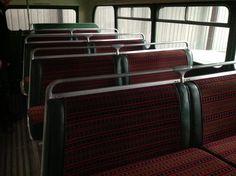 Restoration of vintage bus seats Vehicle Upholstery, Restoration, Household, Vintage, Home, Ad Home, Vintage Comics, Homes, Haus