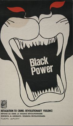 Black Panther Party, Black Power poster