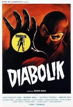 Diabolik-poster - Danger: Diabolik - Wikipedia