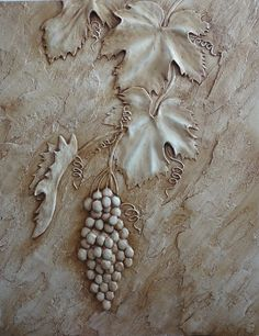 plaster wall sculpture how to Plaster Art, Plaster Walls, Decorative Plaster, Decorative Boxes, Clay Wall Art, Clay Art, Mural Art, Wall Murals, Mural Painting