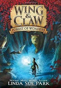 Forest of Wonders (Wing & Claw) by Linda Sue Park http://www.amazon.com/dp/0062327380/ref=cm_sw_r_pi_dp_2gZ5wb1DVRTET