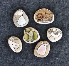 Cute painted rocks!