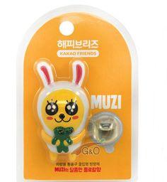 Kakao Talk Friends Figure Character Car Home Vent Clip Air Freshener Muzi 86