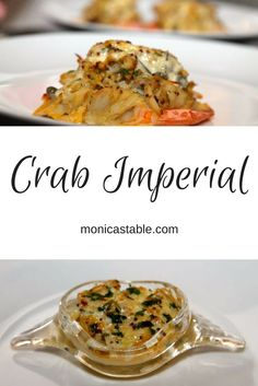 Our version of Crab Imperial is simple. Serve it in crab shells or stuffed into shrimp, local rockfish or even lobster tails - you can't go wrong!  #SundaySupper  #Maryland  https://www.facebook.com/aboutmonicastable/posts/1317224478324017