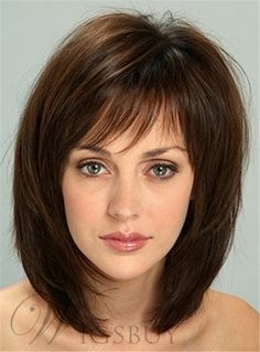 Top 20 Medium Layered Haircuts for Curly Hair. Medium Layered Haircuts with Bangs. Medium Length Hair With Layers, Bangs With Medium Hair, Medium Hair Cuts, Medium Cut, Medium Bobs, Medium Layered Haircuts, Layered Bob Hairstyles, Medium Hairstyles, Hairstyles 2016