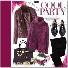 How To Wear Purplish red Outfit Idea 2017 - Fashion Trends Ready To Wear For Plus Size, Curvy Women Over 20, 30, 40, 50