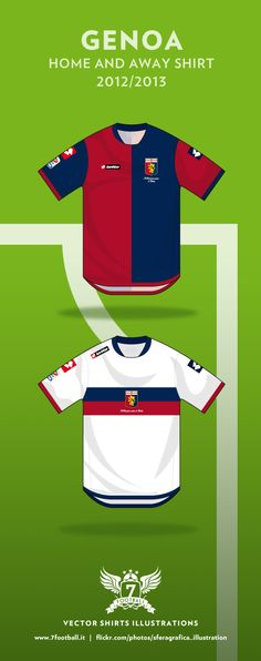 Genoa home and away shirt 2012 2013 Home And Away 5020aef2d