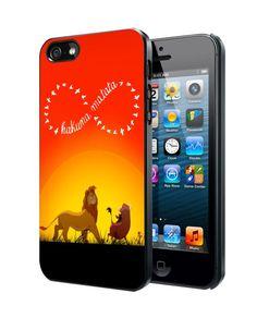 Disney, the lion king hakuna matata C Samsung Galaxy S3 S4 S5 Note 3 , iPhone 4(S) 5(S) 5c 6 Plus , iPod 4 5 case