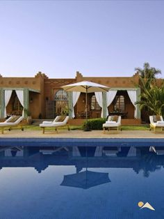 A traditional and opulent Marrakesh villa to rent for a luxurious holiday in Morocco. #luxuryvilla #marrakesh #privatepool #visitmorocco #bestofmorocco #luxuryholidaydestinations #palace Visit Morocco, Marrakech Morocco, Marrakesh, Outside Patio, Double Room, Bedroom With Ensuite, Moorish, Moroccan Style, Private Pool