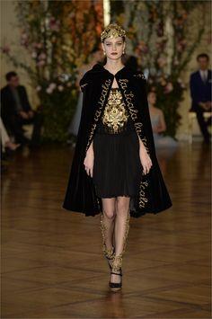 """cinderellas-stilettos: """"Dolce and Gabbana Alta Moda 2015 """""""