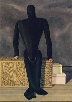 "artist-magritte:  ""The female thief, 1927, Rene Magritte  """