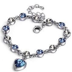 WWOOR bracciale da donna con cristalli, a forma di cuore ... https://www.amazon.it/dp/B074BPTXWQ/ref=cm_sw_r_pi_dp_U_x_rvyDAb76PBFYB
