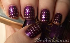 Nail stamping with Konad 60