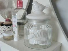 Ikea Hemnes Dressing Table BHS Ceramic bird jar