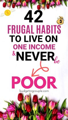 42 Frugal Hacks to Live on One Income & NEVER be Poor - Frugal Living - Start saving money on autopilot when you utilize these genius (yet simple) frugal tips and tricks.