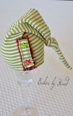 SALE Ready to Ship Upcycled Baby Button Elf Baby por BabiesByHand