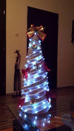 Pletený stromček
