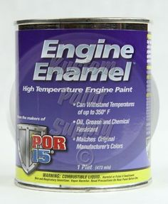 POR 15 42038 Black Engine Enamel EEPB Pint *** Check out this great product.
