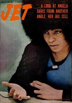 Goddesses of Our Youth Angela Davis Angela Davis circa 1972 Angela Davis, Jet Magazine, Black Magazine, Black Like Me, Black Is Beautiful, Black Panthers Movement, Magazine Front Cover, Magazin Covers, Another A