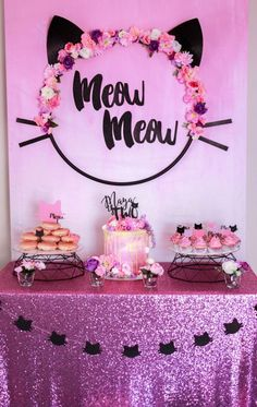 Meow Meow Birthday Party