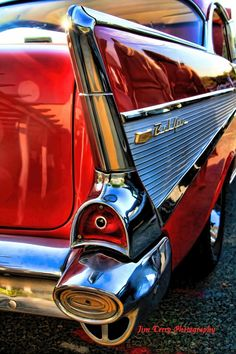 Take a ride in a 1957 Chevy Bel Air convertible.