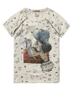 Printed T-Shirt  - Scotch & Soda