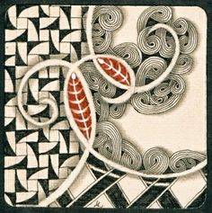 Tile by Lily Moon - what is the pattern on the left?