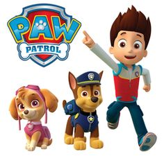 Paw Patrol Wall Stickers - Totally Movable and Reusable