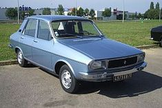 1974 - Renault 12. Ours replaced Renault 4.
